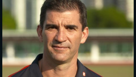 Gareth Baber: Skills training with Hong Kong women's sevens team
