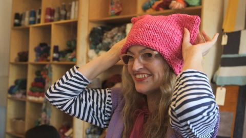 The Pussyhat Project aims to flood the National Mall with a million handmade, cat-eared knit hats.