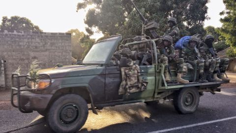 The Senegalese soldiers are tasked with removing Gambia's Yahya Jammeh if he doesn't step down.