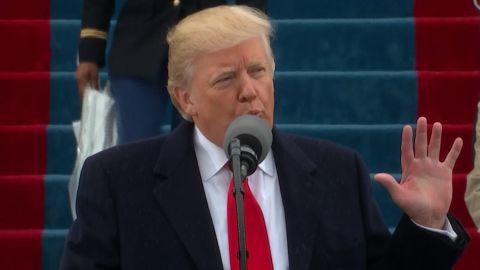 Donald Trump inaugura