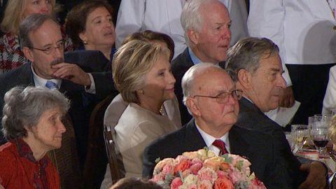 hillary clinton donald trump luncheon inauguration