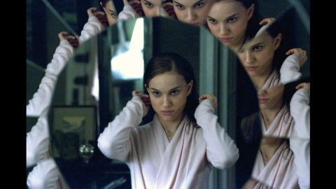 """""""Black Swan"""" features imagined scenes between Natalie Portman, who plays a ballerina, and a fellow dancer played by Mila Kunis. However, Portman's character also exhibits signs of a psychotic disorder, which is separate from dissociative identity disorder."""