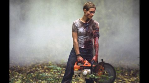 """In the French thriller """"High Tension,"""" Cécile De France plays a woman who seems to be trying to rescue her friend from a cold-blooded killer."""