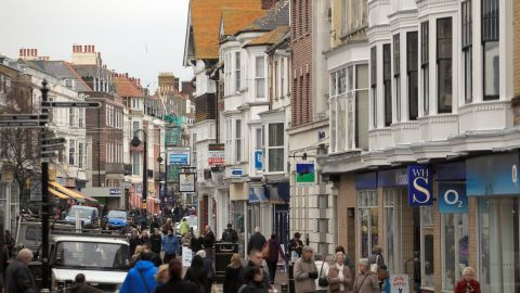 About an hour southwest of London, Bournemouth and Dorset is the most expensive housing market in England.