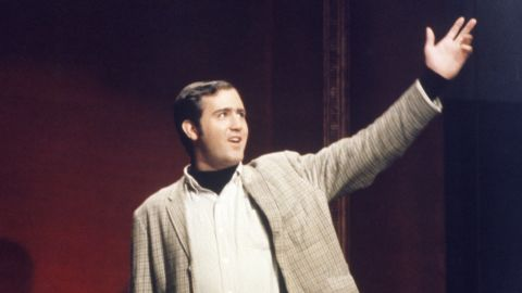 """From """"Saturday Night Live"""" to """"Late Night with David Letterman"""" to """"Taxi,"""" Andy Kaufman proved he was a genius at playing the comically oddball character. In fact, Kaufman was so skilled at committing to a character that there are those who think he's just been playing dead since 1984."""