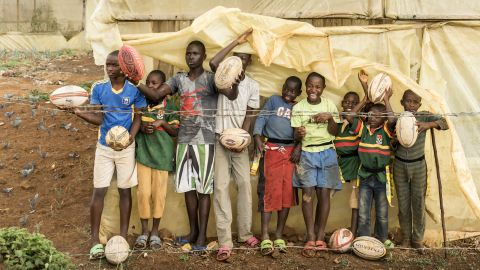 Rugby is on the rise in Rwanda, having played a key role in the population's healing process after the 1994 genocide.