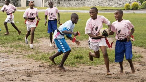 There are 600 players at senior level, while Rwanda is 96th in the World Rugby rankings.