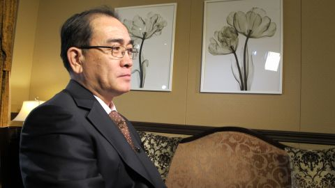 Thae is worried about the impact his actions will have on his relatives back in North Korea.