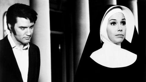 """Moore plays opposite Elvis Presley in the 1969 movie """"Change of Habit."""""""