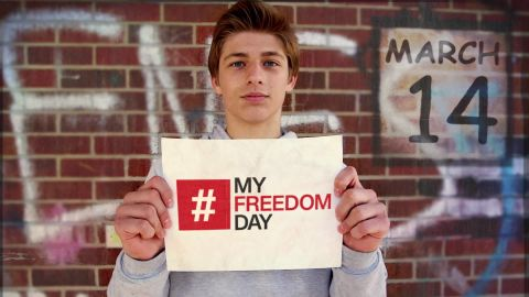 March 14 is #MyFeedomDay.