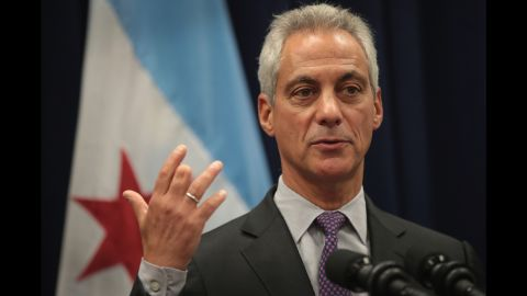 """Chicago Mayor Rahm Emanuel speaks at a news conference Wednesday, January 25, where he addressed issues related to the city's murder rate. President Trump has threatened to """"send in the Feds"""" if Chicago """"doesn't fix the horrible 'carnage' going on."""" Emanuel <a href=""""http://www.cnn.com/2017/01/24/politics/donald-trump-chicago-carnage/"""" target=""""_blank"""">said he welcomed the idea</a> of greater federal assistance. He said federal authorities already play an integral role in fighting crime in the city, referencing the transport of guns across state lines, among other areas."""