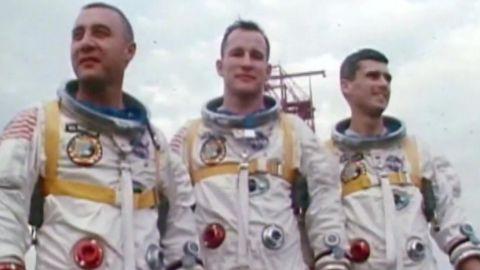 The Apollo 1 crew.