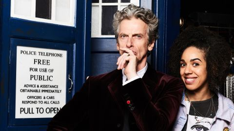 """Peter Capaldi in """"Doctor Who."""""""