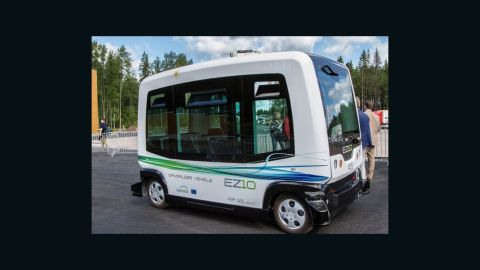 """A two month testing period of the EZ10 was conducted in Dubai's Business Bay district in early 2017. <a href=""""http://mediaoffice.ae/en/media-center/news/21/4/2017/selfdriving.aspx"""" target=""""_blank"""" target=""""_blank"""">The RTA reported </a>92% of survey respondents were satisfied with vehicle safety, while 80% within the 20-40 age bracket believed it cut congestion."""