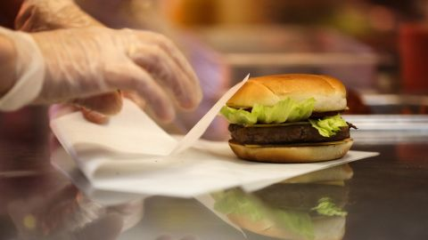38% of the sandwich/burger contact paper tested contained fluorine.