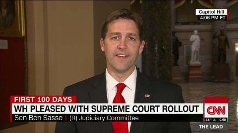 senator ben sasse supreme court nominee gorsuch president trump the lead jake tapper_00002609.jpg