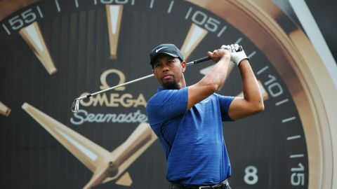 Woods is currently in a tie for 124th and in danger of missing the cut.