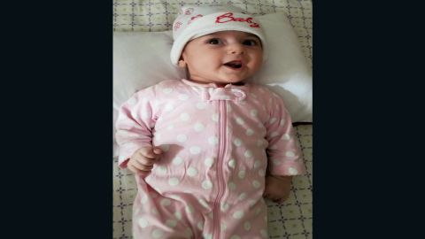 The 4-month-old needs urgent heart surgery.