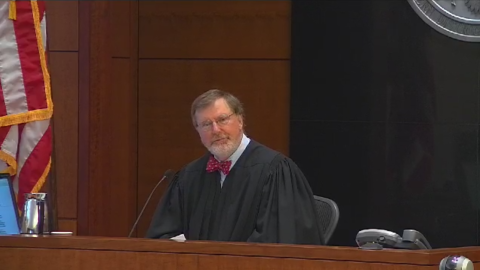 Federal Judge James Robart at a hearing in Seattle on August 2015.