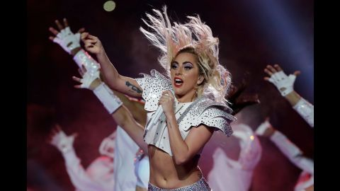 """Singer Lady Gaga posted a message on her Instagram account regarding comments about her body during her NFL Super Bowl 51 halftime show. """"I'm proud of my body and you should be proud of yours too,"""" <a href=""""https://www.instagram.com/p/BQPMuhPlaBr/?taken-by=ladygaga&hl=en"""" target=""""_blank"""" target=""""_blank"""">she wrote. </a>"""