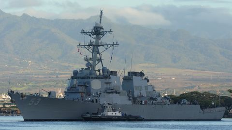 The USS John Paul Jones is one of 84 Aegis-equipped ships in the US Navy.