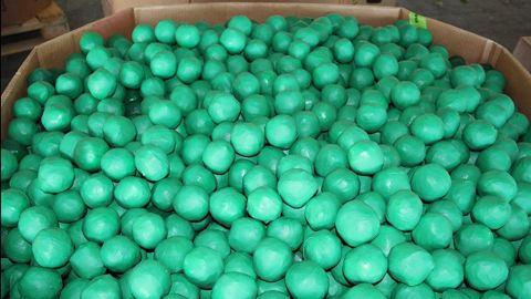 U.S. Customs and Border Protection found nearly 4,000 pounds of marijuana camouflaged within a shipment of key limes in Pharr, Texas.