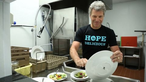 """""""The key to our success is empowering the individual,"""" Bon Jovi says."""