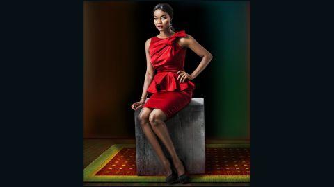 Lagos-born actress Kehinde Bankole.