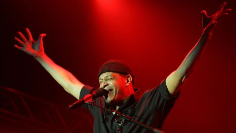 Al Jarreau at a jazz festival in the Netherlands in 2006.