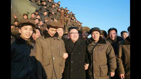 This was the first missile test by Pyongyang since US President Donald Trump took office.