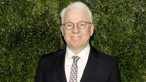 """""""Parenthood"""" actor Steve Martin became a first-time dad at 67 with wife Anne Stringfield."""
