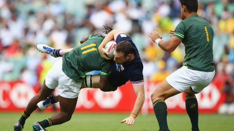 Tackling has also become a feature of his game.