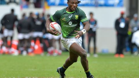 His first hero was US sprinter Marion Jones, while Springboks legend Bryan Habana later became his idol and rugby mentor.