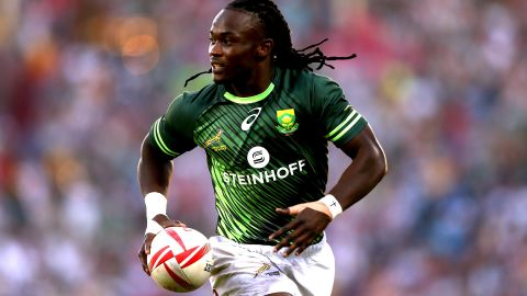 Since his international debut in 2013, Seabelo Senatla has become South Africa's leading try scorer in rugby sevens, touching down 189 times.