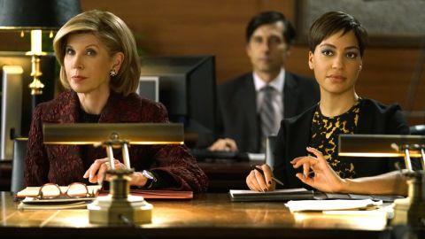 "Christine Baranski, Cush Jumbo in ""The Good Fight"""