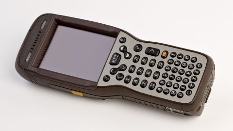 This hand-held computer provides the order of delivery to the driver.