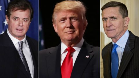 Paul Manafort President Donald Trump Michael Flynn