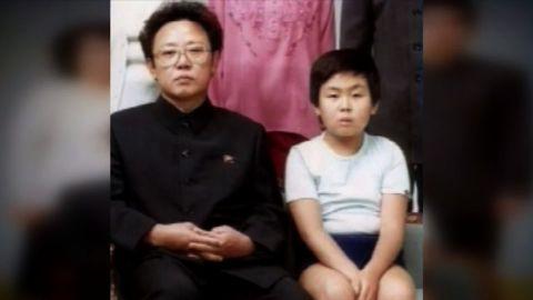 Kim Jong Nam with his father, former North Korean leader Kim Jong Il.