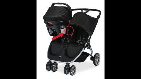 Britax B-Agile and BOB Motion strollers were recalled.