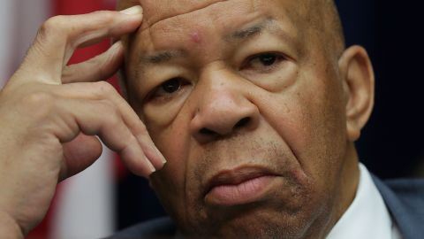 """WASHINGTON, DC - SEPTEMBER 13:  Ranking member Rep. Elijah Cummings (D-MD) listens during a hearing on """"Examining Preservation of State Department Federal Records"""" before the House Oversight and Government Reform Committee September 13, 2016 on Capitol Hill in Washington, DC. Bill Thornton and Paul Combetta of Platte River Network invoked their right under the Fifth Amendment not to answer questions, and Bryan Pagliano, a former IT advisor for the State Department did not show up to testify.  (Photo by Alex Wong/Getty Images)"""