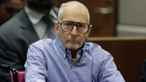 Real Estate Heir Robert Durst appears in the Airport Branch of the Los Angeles County Superior Court during a preliminary hearing on December 21, 2016 in Los Angeles, California. Durst is charged with capital murder in a friend's killing Susan Berman in 2000.