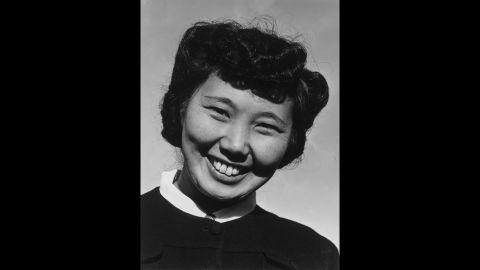 Mrs. May Ichide, Sunday school teacher