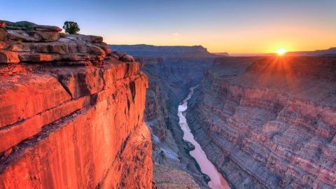 <strong>9. Grand Canyon National Park, Arizona: </strong>The second most popular National Park, the Grand Canyon was first protected as a national monument by then-President Theodore Roosevelt. Watching the sunrise at the park's North Rim is majestic.