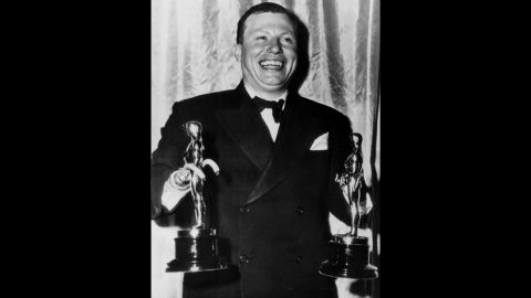"""""""...I'd like to accept this trophy in the name of all those thousands of disabled veterans who are laying in hospitals all over the country."""" -- Actor Harold Russell, accepting a special award at the 19th Academy Awards on March 13,1947. Russell, a disabled veteran of World War II, won two awards that night -- one for his performance in the 1946 movie ''The Best Years of Our Lives"""" and an honorary statue."""