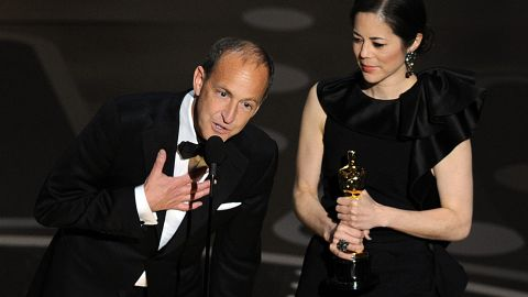 """""""I must start by pointing out that three years after a horrific financial crisis caused by massive fraud not a single financial executive has gone to jail, and that's wrong...."""" -- Charles Ferguson, accepting the best documentary feature award for his work on """"Inside Job"""" at the 83rd Academy Awards on February 27, 2011 at the Kodak theater"""