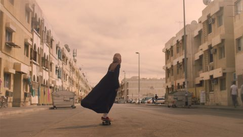 Nike's commercial featured a number of prominent female athletes from the Arab world