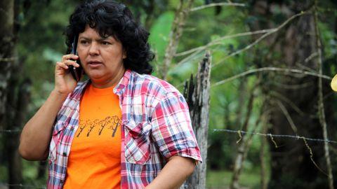 Activist Berta Caceres