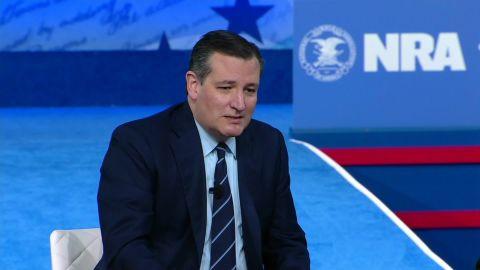 Ted Cruz CPAC 2nd Amendment guns feather duster_00003013.jpg