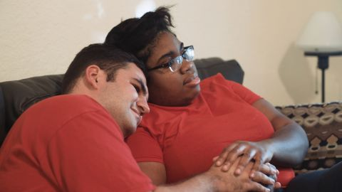 Nico Morales and Latoya Jolly have a high-functioning form of autism.