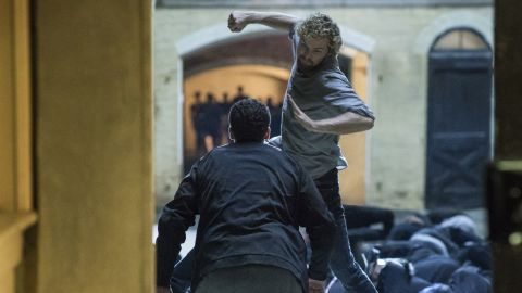 """Marvel's """"Iron Fist"""" series on Netflix also caught heat for having """"Game Of Thrones"""" actor Finn Jones star as a martial arts expert."""